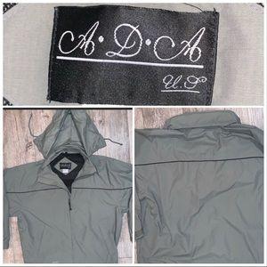 XL ADA Full Zip Greenish Grey Jacket